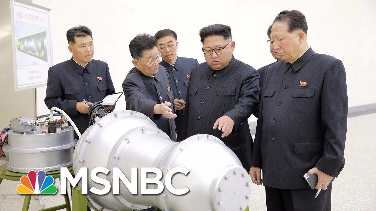 North Korea Fires Ballistic Missile Towards East | MSNBC thumbnail