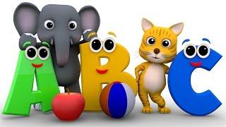 Phonics Song | ABC Song | 3d Nursery Rhymes | Kids Rhymes | Baby Videos