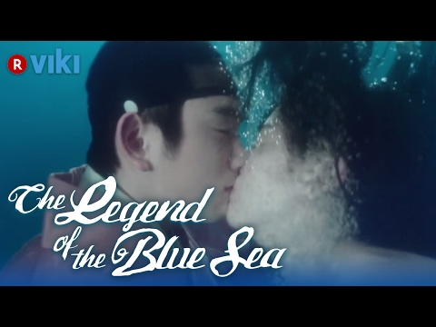 The legend of the blue sea   ep 8   jun ji hyun  amp  lee min ho kiss