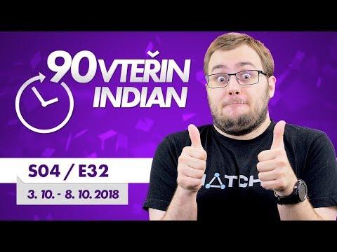 90VTEŘIN: GOOD NOVINKY (3. 10. - 8. 10. 2018)