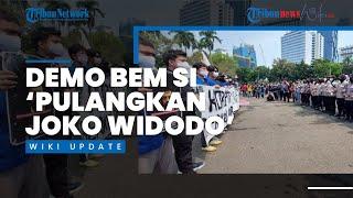 Demo BEM SI Hari Ini, Kritik Soal Pemerintah hingga Minta 'Pulangkan Jokowi'