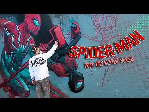 Into the Spider-Verse Mural