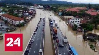 STEEL - Наводнение в Тайланде: туристы острова Самуи стали заложниками стихии