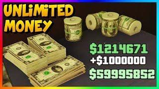 GTA 5 ONLINE - *NEW* EASY UNLIMITED MONEY METHOD!   Best Fast GTA Online Money Guide 1.45
