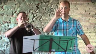 Trumpet Lessons, Steenstrup Teaching Vizzuttis Cascades