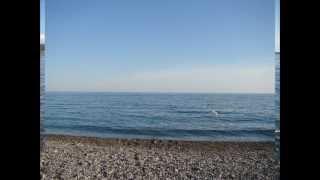 Море... такое синее Черное Море Абхазии!!!