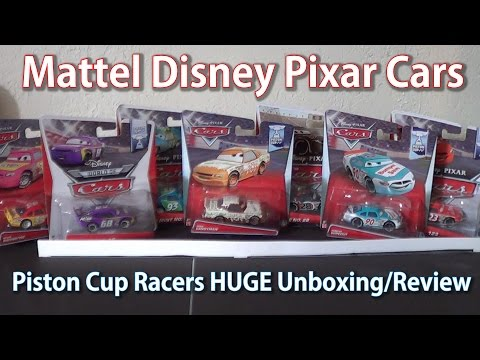 Mattel Disney Pixar Cars: Piston Cup Racers (HUGE HD UNBOXING AND REVIEW)