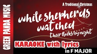 While Shepherds Watched - Karaoke/Backing Track - from The Traditional Christmas Carols CD