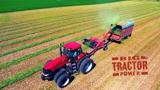 Case IH 275 MAGNUM and FHX300 Forage Harvesting