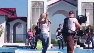 Beatrice Egli - Bitte Bitte / Probe im ZDF Fernsehgarten