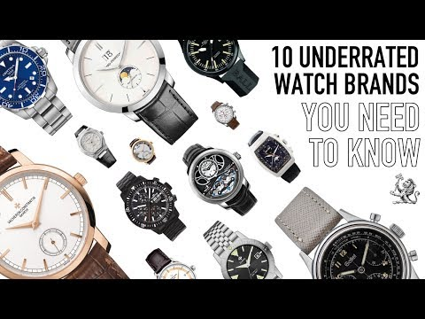 The Best 10 Most Underrated Watch Brands On The Market Today – From $100 To Luxury & Haute Horology