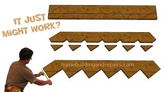 How To Make Larger Stair Stringers Using Smaller Lumber