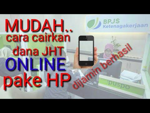 Cara cairkan dana JHT BPJS Ketenagakerjaan online pake HP