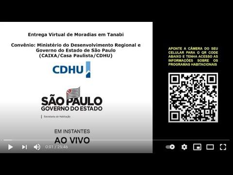Entrega de 184 moradias da CDHU em Tanabi-SP