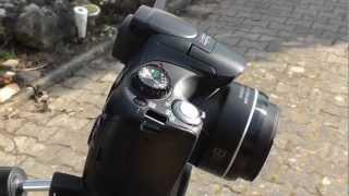 Canon Powershot SX40 HS hands-on Test (german)