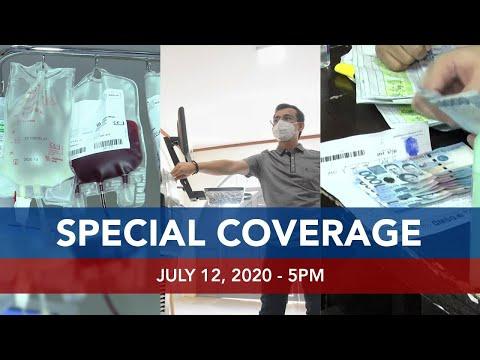 [UNTV]  UNTV: Special Coverage   July 12, 2020 – 5pm