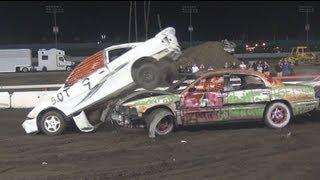 L.A. County Fair Demolition Derby 2013