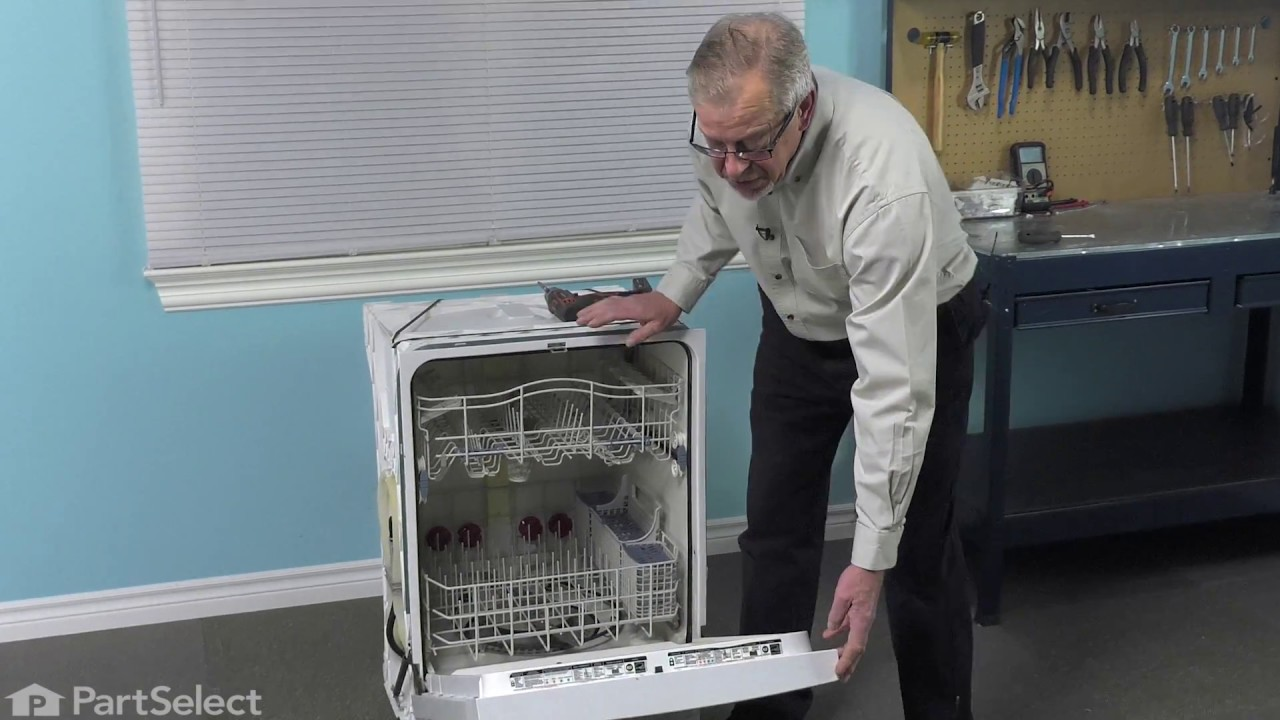 Replacing your KitchenAid Dishwasher Electronic Control Board