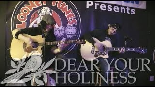 Bayside - Dear Your Holiness (Acoustic - Live from Looney Tunes, NY)