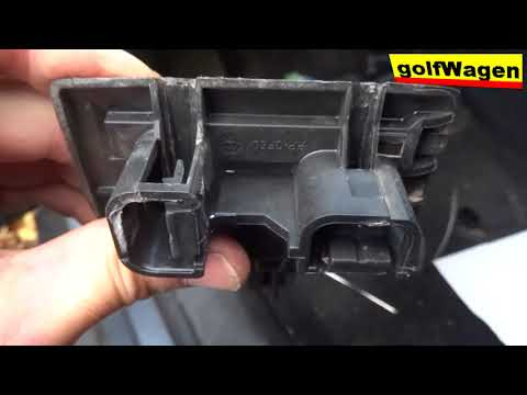 How to replace accelerator pedal on VW Golf 5 /1K1 721 503P/ need special tool