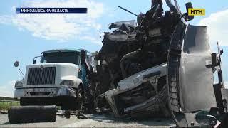 На Миколаївщині через те, що водій заснув - загинуло 5 людей