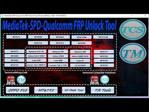 MediaTek SPD Qualcomm FRP Unlock Tool   Best Tool To Remove