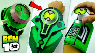 All New Best DIY BEN 10 OMNITRIX | How To Make Alien Watch with Interface & More +FREE TEMPLATE