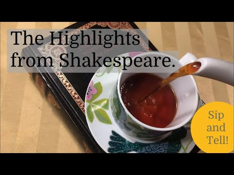 "Trailer from my Shakespeare based Webseries ""Sip & Tell. The Highlights from Shakespeare"""
