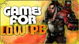 TOP 5 GAMES for LOW PC