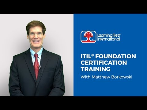 Passing Your ITIL Foundation Exam with Learning Tree - YouTube