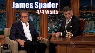James Spader - 2 Beautiful Personalities Conversing - 4/4 Appearances with Craig Ferguson [240-720p]