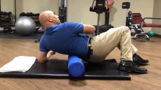 How To Use A Foam Roller For Low Back Trigger Point Pain - Lumbar Mobility With A Foam Roller