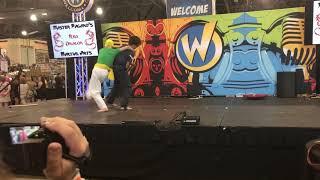 Performed at Wizard World Philadelphia, June 2019