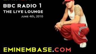 Eminem on BBC Live Lounge - Part 1 of 2
