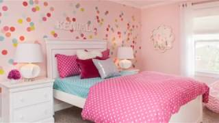 Pink Bedrooms Ideas For Girls Bedrooms! Awesome Bedroom Ideas For Girls!