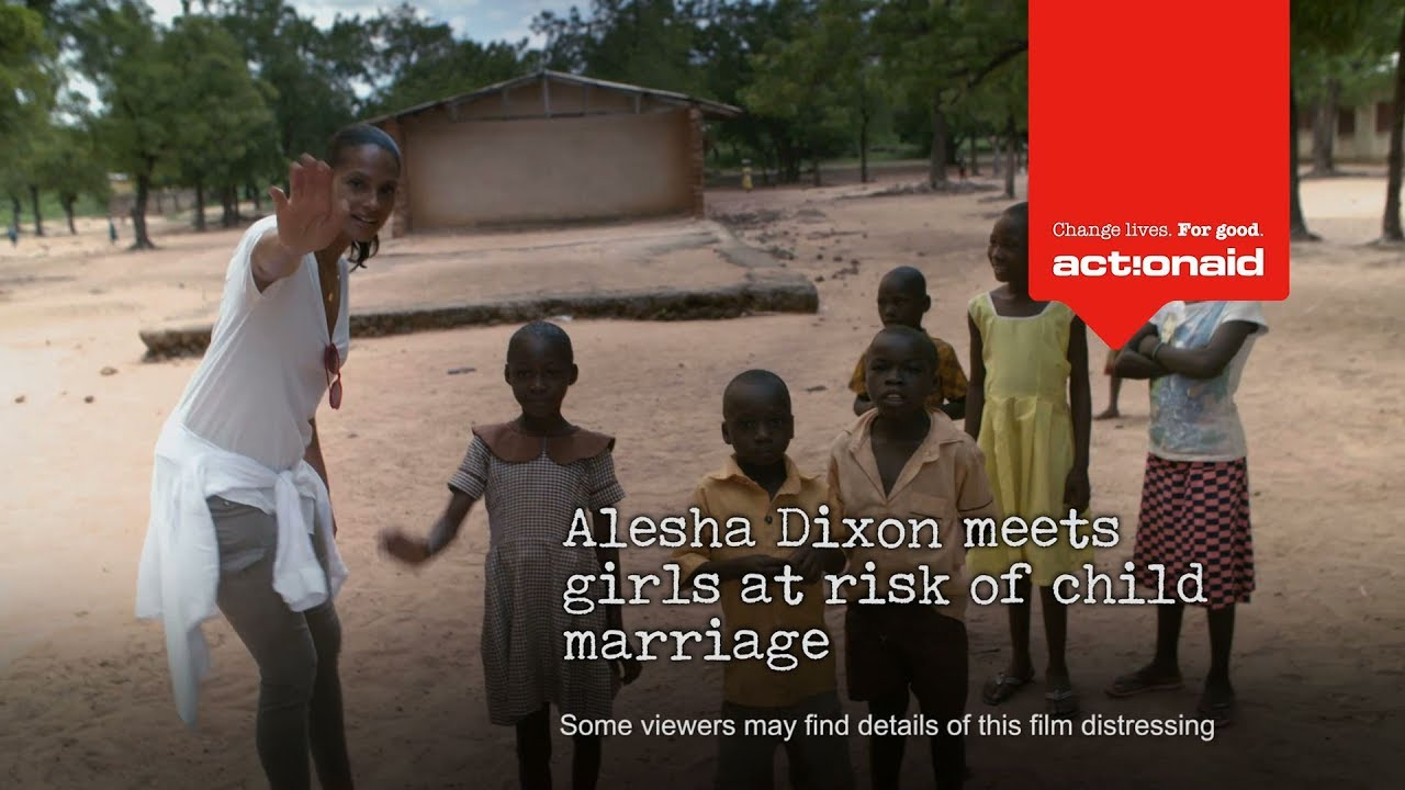 "Alesha Dixon: ""I met girls at risk of child marriage"""