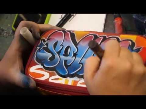 Satch ►Sprayday◄ Papier und mehr - Satch der Schulranzen in Rendsburg Kiel Paris New York