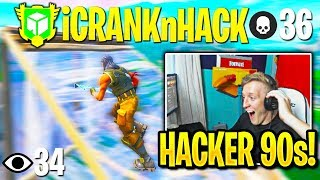 Tfue SPECTATES *MOST CRACKED* AIMBOT HACKER in Fortnite!