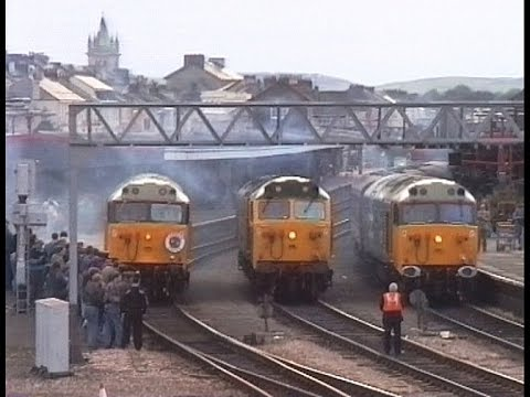 50007, 50033 & 50050 working 'The Cornish Caper' railtour 19…