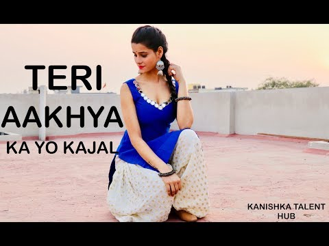 teri aakhya ka yo kajal dance choreography video kanishk