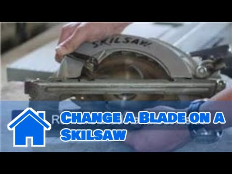 Skilsaw : How to Change a Blade on a Skilsaw