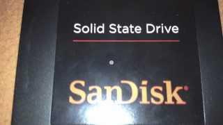 SSD Review zur 128GB SanDisk Platte ( Alte Version )