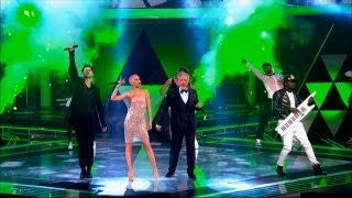 The Voice UK 2013 | The Voice UK Coaches sing 'Get Lucky' - The Live Final - BBC One