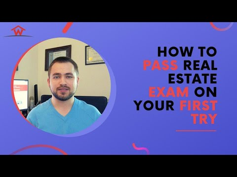 How To Pass Real Estate Exam on Your First Try - YouTube