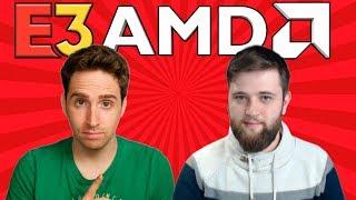AMD Conferencia en en el E3. Presentación de Navi y Ryzen 9 3950X