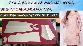 Tutorial Pola Baju Kurung Malaysia