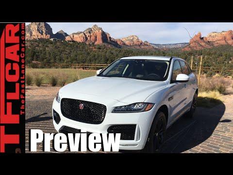 2017 Jaguar F-Pace Sneak Peek