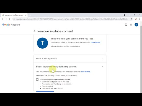 How to Delete Your YouTube Channel (2021)