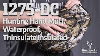 Huntworth 1275-DC Hunting Hand Muff, Waterproof, Thinsulate Insulated