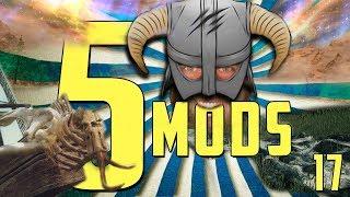 5 OVERHAUL MODS for SKYRIM SE